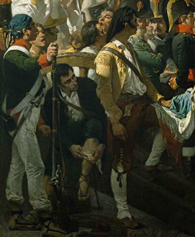 José Casado del Alisal – La rendición de Bailén