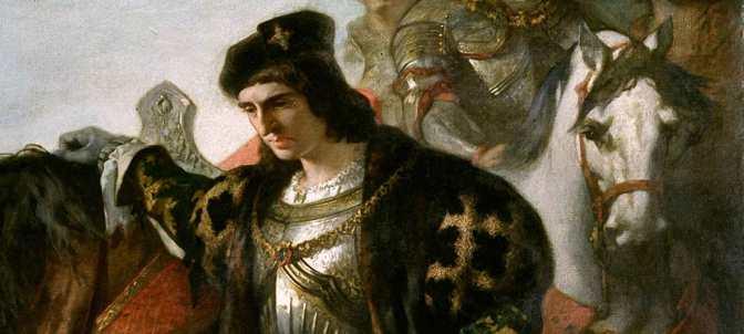 José Casado del Alisal – Los dos Caudillos