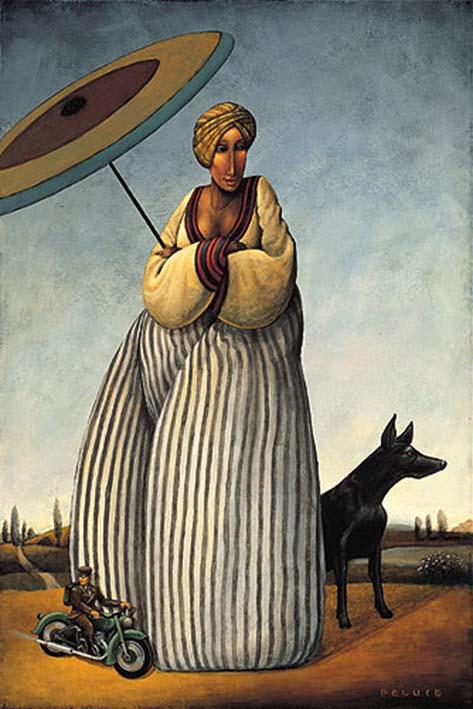 Acrílico sobre lienzo de Robert Peluce en Arsenal Le Comte Arts